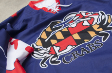 Baltimore Crabs box lacrosse jersey